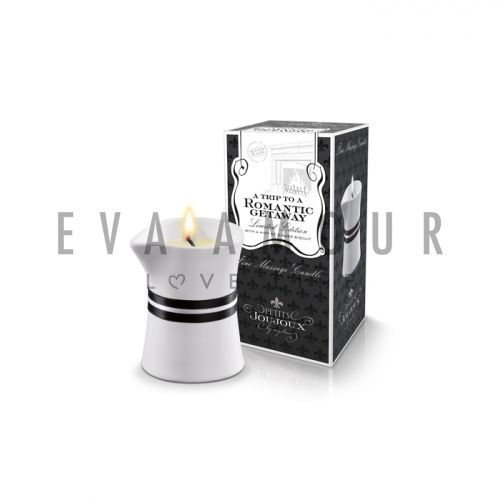 Petits Joujoux Massage Candle Small - A Trip To A Romantic Getaway - Limited Edition