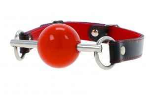 Hardball Gag Red