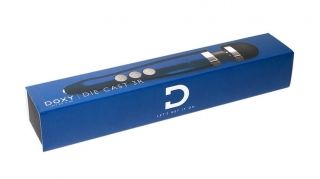 Doxy Die Cast 3R Rechargeable Wand - Blue Flame