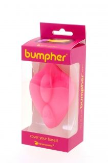 Bumpher Stimulating Strap-On Dildo Base Pink